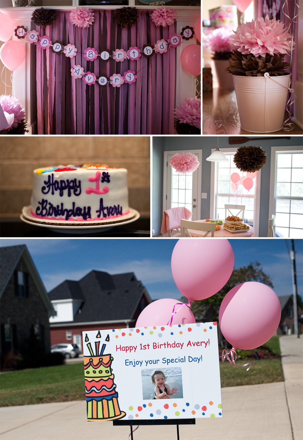 Averys 1st Birthday Party Murfreesboro TN Photographer